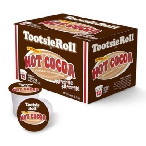 Tootsie Roll Hot Cocoa Single Serve - 12ct (Hot Chocolate Pops compare prices)