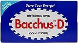 Bacchus-d Energy Drink 10 X 100ml 3.3 Fl Oz