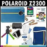 Polaroid Z2300 10MP Digital-Sofortkamera (blau) mit 8-GB-Kar...