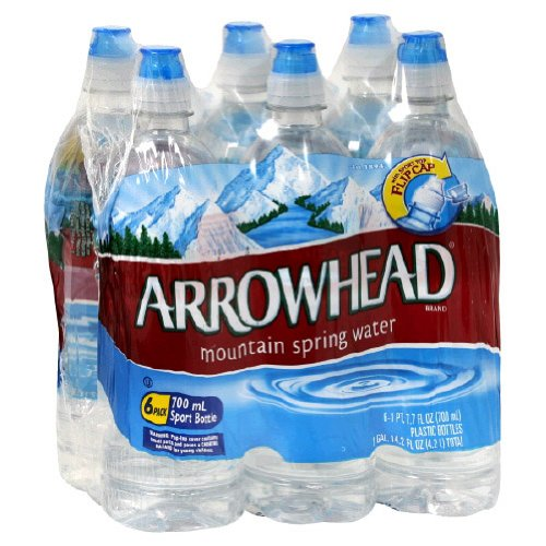 Arrowhead Water Spring, Sport Cap, 700Ml (Pack of 24)