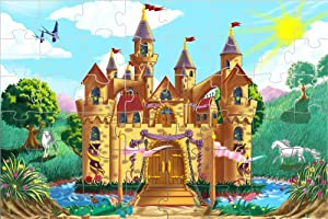 Melissa & Doug Fairy Tale Castle 48 pcs Floor Puzzle