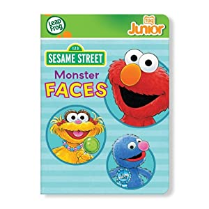 Leapfrog Tag Junior Book: Sesame Street: Monster Faces