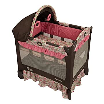 Graco Travel Lite Crib (Jacqueline)