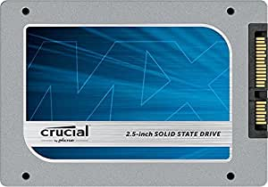 """Crucial MX100 512GB SATA 2.5"""" 7mm (with 9.5mm adapter) Internal Solid State D"""