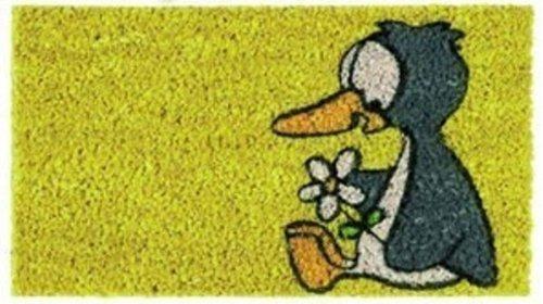 Kinder Fußmatte Pinguin - Kokosmatte 22x37 cm