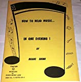 How to Read Music in One Evening (0912732008) by Shinn, Duane