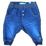 Name It Baby Hose Sweat Jeans Denim dunkelblau 74