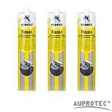 Auprotec® Normfest 1K Karosserie Dichtmasse spritzbar Nahtabdichtung Flexon Ultra schwarz