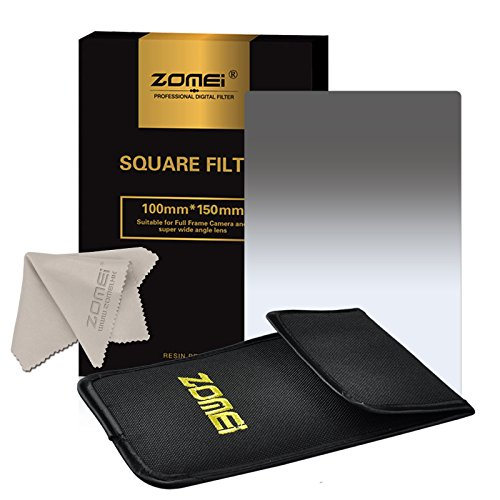 "Zomei Gradual grey ND2 Square Z-PRO Series Filter for Cokin Z zomei Hitech 4X6"" Holder 150*100 mm"
