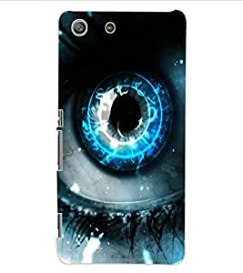ColourCraft Digital Eye Design Back Case Cover for SONY XPERIA M5 E5603 / E5606 / E5653