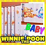 Gardine WINNIE POOH BABY 1 Teil 116B x 210L Kinderzimmer