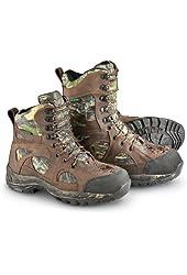 "Men's 7"" Guide Gear Waterproof ScentMask 400 gram Thinsulate Ultra Insulation Xtreme Shot Boots Mossy Oak"