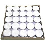 Pure Source India 100 Pcs Pack Of Tea Light Candles Smokeless 12 Gram Long Burning .fully Refine Wax Candles ,...