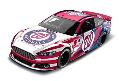 Washington Nationals Major League Baseball Hardtop Diecast Car, 1:64 Scale
