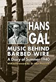 img - for Music behind Barbed Wire book / textbook / text book