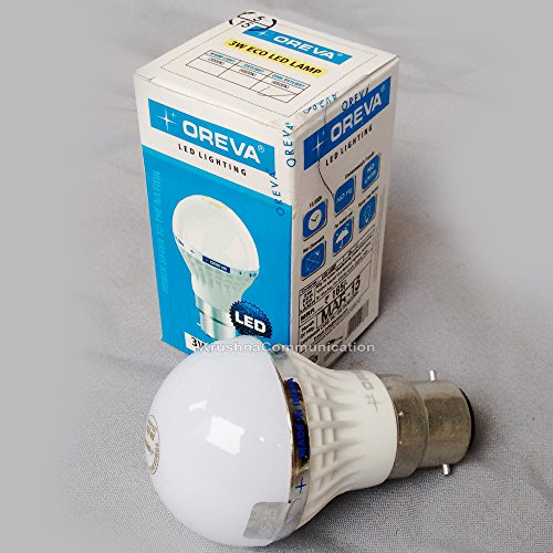 3W ECO LED Bulb (Cool Day Light)