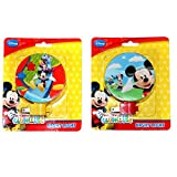 Mickey Mouse and Friends Night Lights- Set of Colorful Two Nightlights