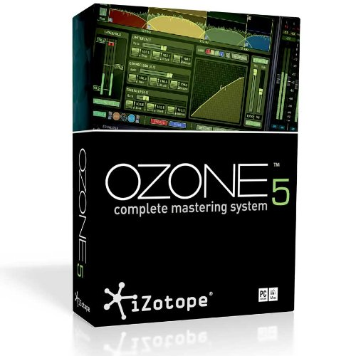 iZotope Ozone 5 Complete Mastering System Software (Digital Download Only)