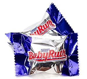 Mini Baby Ruth Bars (peanuts, nougat, caramel, chocolate ...