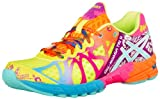 ASICS Womens Gel-Noosa Tri 9 Running Shoe,Flash Yellow/Turquoise/Berry,8 M US