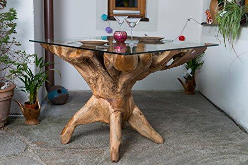 tisch aus baumstamm wurzelholz stunning couchtisch wurzel baumwurzel wurzelholz teak cm. Black Bedroom Furniture Sets. Home Design Ideas