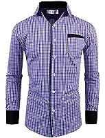 Tom's Ware Chemises- Coton a carreaux manches longues-Homme-Homme