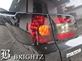 BRIGHTZ MPV LY3P ブラックスモークテールライトカバー 2155
