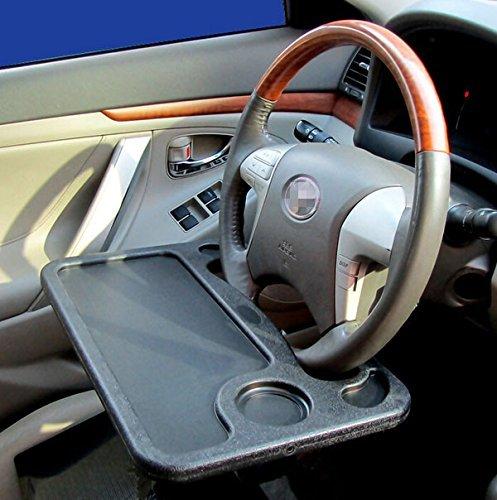 Car Laptop/Eating Steering Wheel Desk (Gray)
