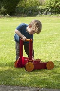 MOOVER Wooden Baby walker (Red) de Moover - BebeHogar.com