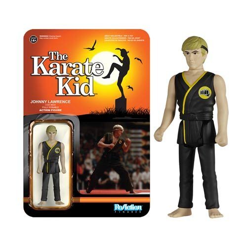 Karate Kid- Action Figure- Johnny Lawrence- Movie Collector's-licensed NEW
