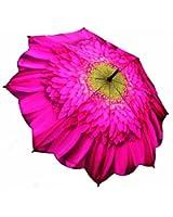 Galleria Big Flower Auto Open Stick Umbrella