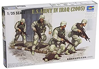 Trumpeter 1/35 US Army in Iraq 2005 Figure Set
