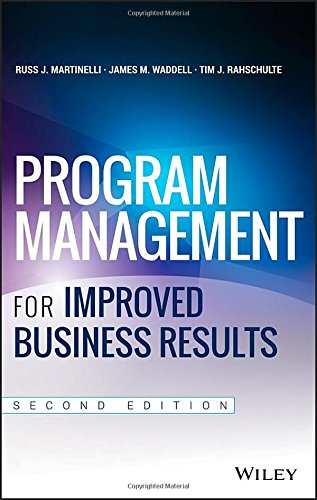 Program Management for Improved Business Results (Certification Programs compare prices)