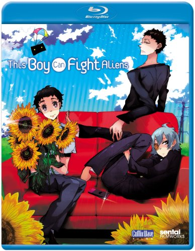 Cover art for  This Boy Can Fight Aliens [Blu-ray]