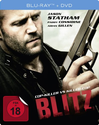 Blitz - Cop Killer vs. Killer Cop - Steelbook (+ DVD) [Blu-ray]
