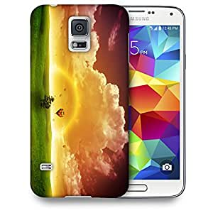Snoogg Rainbow Nature Designer Protective Back Case Cover For SAMSUNG GALAXY S5 MINI