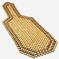 Wooden Bead Seat Acupressure Design Universal Size