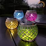 Urban Solar Powered Set of 4 Colour L...