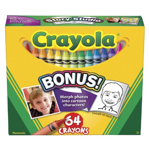 Crayola Lift Lid Crayola Crayon Sets (52-064D) back-969695