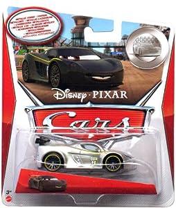 disney pixar cars 1 55 scale diecast silver racer series