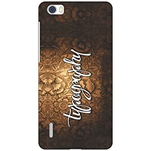 Huawei Honor 6 H60-L04 try your day Phone Cover - Matte Finish Phone Cover