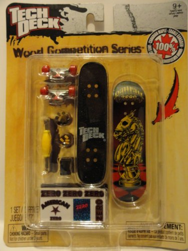 51YeM0rYBFL Buy  Tech Deck Wood Competition Series American Zero Finger Boards
