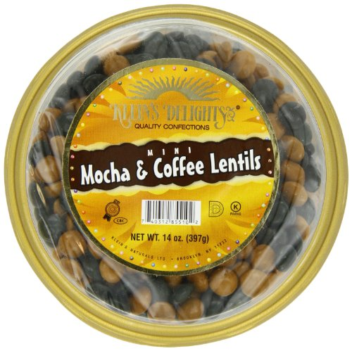 Klein's Natural Foods Lentils, Mocha and Coffee, Mini, 14-Ounce