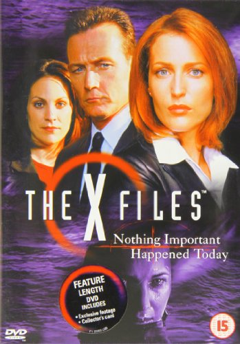x-files-nothing-important-happened-today-edizione-regno-unito-edizione-regno-unito