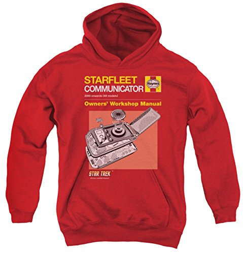 Communicator Manual Star Trek The Original Series Youth Hoodie CBS1627YFTH