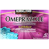 Kirkland Signature Omeprazole Delayed Release, Acid Reducer Tablets 20 mg, 42 Count
