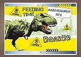 Personalised Children's Placemat - Dinosaur/ T-Rex
