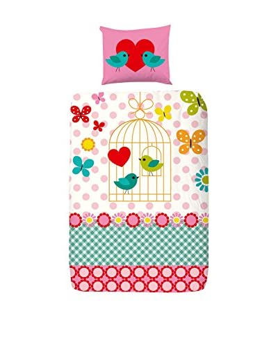 GOOD MORNING Juego De Funda Nórdica  Funny Butterfly