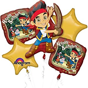Jake and the Neverland Pirates Birthday Bouquet from Tristan's Entertainment Services