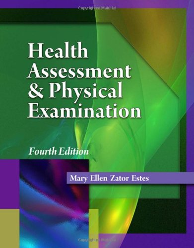 Health Assessment And Physical Examination (Health Assessement & Physical Examination) front-981777